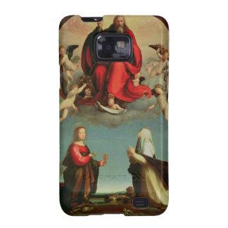 Dios que aparece a St Mary Magdalen y St. Catheri Galaxy SII Carcasas