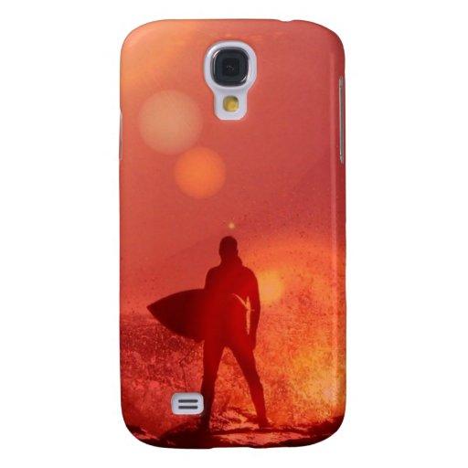 Dios que practica surf funda para galaxy s4
