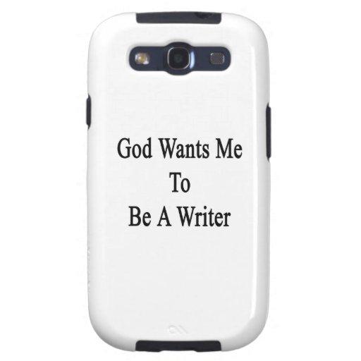 Dios quisiera que fuera escritor galaxy SIII carcasa