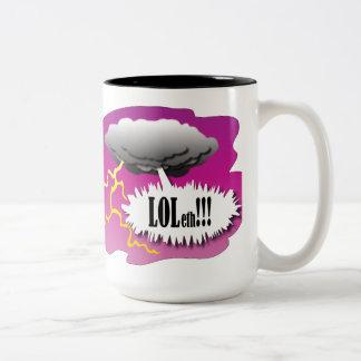 Dios ríe la taza