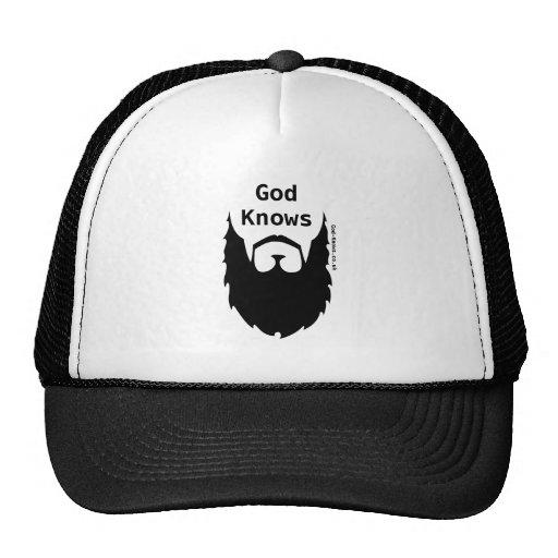 Dios sabe gorras