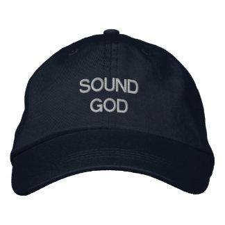 Dios sano gorra de béisbol bordada