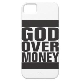 Dios sobre el dinero iPhone 5 carcasas