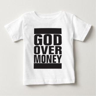 Dios sobre el dinero playeras