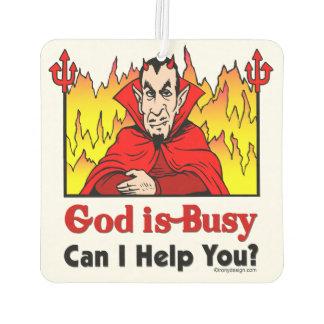 ¿Dios soy ocupado, puedo ayudarle?