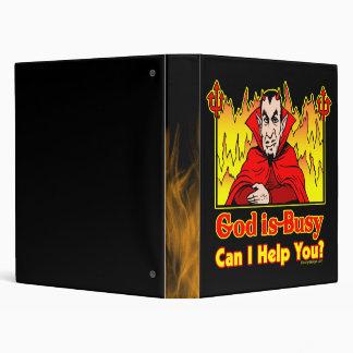 ¿Dios soy ocupado, puedo ayudarle? Carpeta