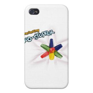 Dios-tapón eterno iPhone 4 carcasa