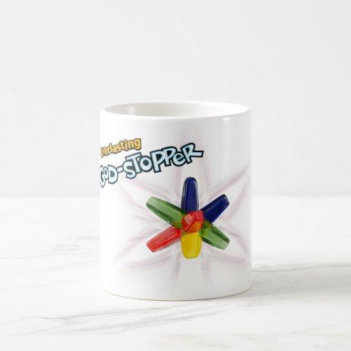 Dios-tapón eterno taza de café