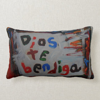dios te bendiga abstract pillows