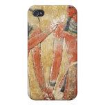 Dios Thoth con Seti I en la tumba de Seti iPhone 4/4S Fundas