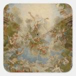 Dios todopoderoso el padre - palacio de Versalles Colcomanias Cuadradas Personalizadas