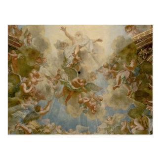 Dios todopoderoso el padre - palacio de Versalles Postales