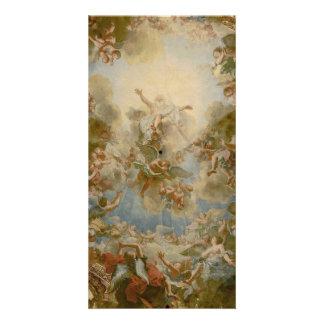 Dios todopoderoso el padre - palacio de Versalles Tarjetas Fotograficas Personalizadas