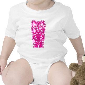 dios tribal del tiki del guerrero feroz de las ros traje de bebé