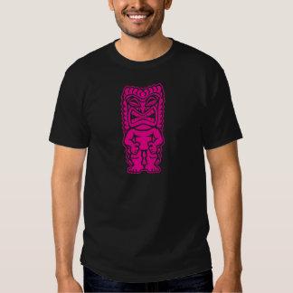 dios tribal del tiki del guerrero feroz de las ros playeras