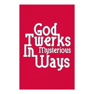 Dios Twerks de maneras misteriosas Papeleria