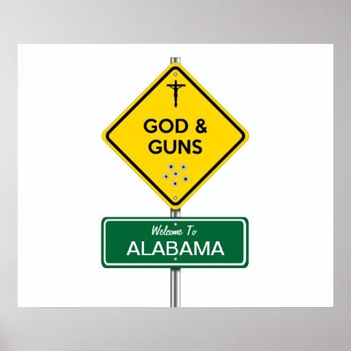 Dios y armas póster
