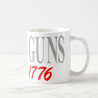 DIOS Y ARMAS TAZA DE CAFÉ