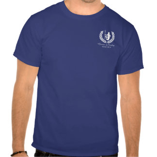 Dios y el laurel griegos de la travesía de la camiseta