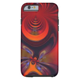 Diosa ambarina - pasión del naranja y del oro funda de iPhone 6 tough