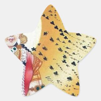 Diosa antigua de las ilustraciones del vintage de pegatina en forma de estrella