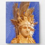 Diosa Athina Placa Para Mostrar