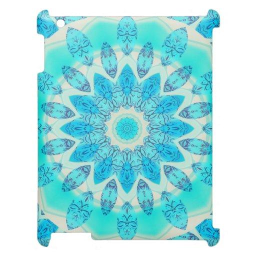 Diosa azul del hielo, cristales abstractos del amo