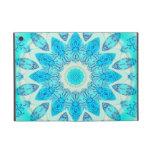 Diosa azul del hielo, cristales abstractos del amo iPad mini cobertura