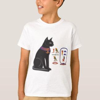 Diosa Bastet del gato egipcio Playeras