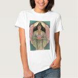 Diosa de Kuan Yin de la compasión Remera