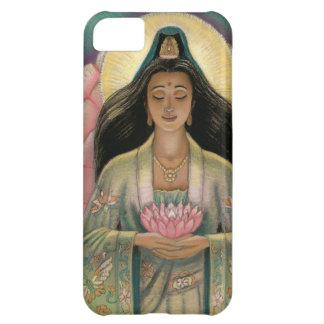 Diosa de Kuan Yin del caso del iPhone 5 de la comp