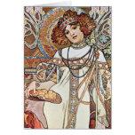 Diosa de la balanza tarjetas