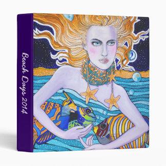 Diosa de la carpeta del mar