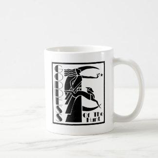 Diosa de la caza taza de café
