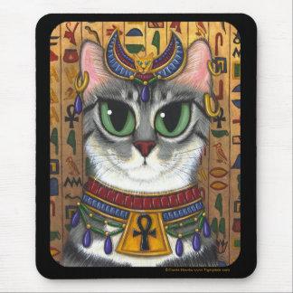Diosa de la estopa, gato Mousepad de Bastet del