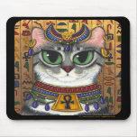 Diosa de la estopa, gato Mousepad de Bastet del eg Alfombrillas De Ratón