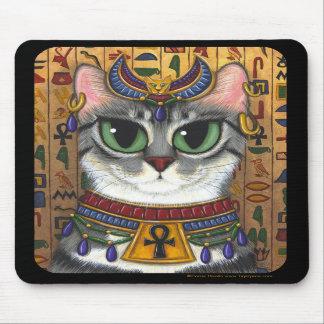 Diosa de la estopa gato Mousepad de Bastet del eg Alfombrillas De Ratón