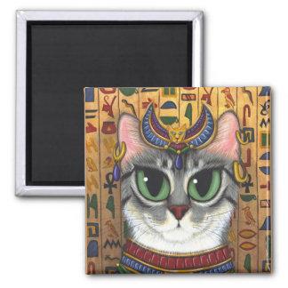 Diosa de la estopa, imán del arte del gato de Bast