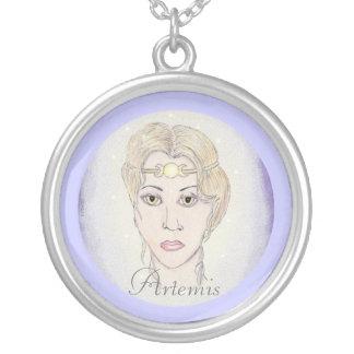 Diosa de la luna de Artemis Colgante Personalizado