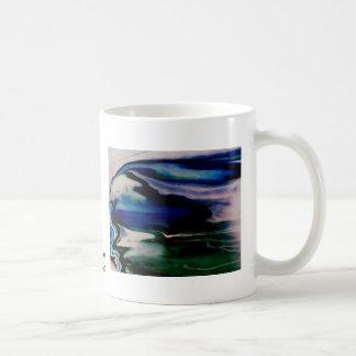Diosa de la luna del arte y del diseño de taza