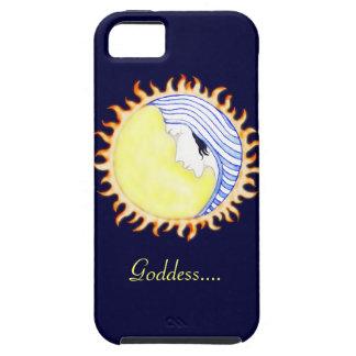 Diosa de la luna iPhone 5 Case-Mate cárcasas