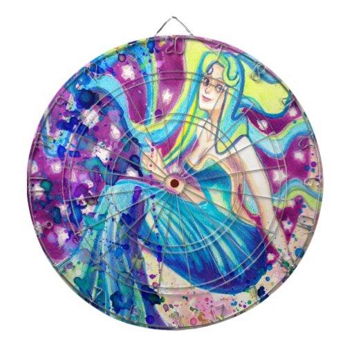 Diosa de la luna tabla dardos