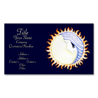 Diosa de la luna tarjetas de visita magnéticas (paquete de 25)