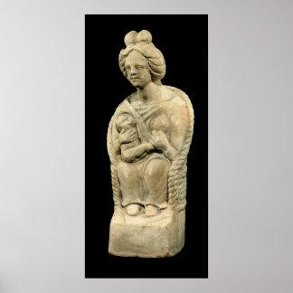 Diosa de la madre, de Macon, Borgoña Impresiones