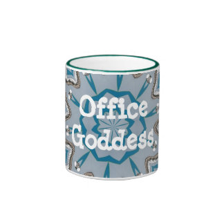 Diosa de la oficina taza de café