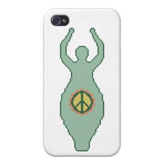 Diosa de la paz iPhone 4 cárcasas