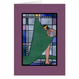 Diosa de la tarjeta del amanecer