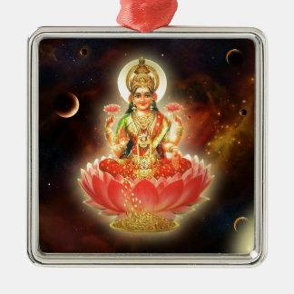 Diosa de Maa Maha Lakshmi Devi Laxmi de la riqueza Ornamento Para Arbol De Navidad
