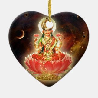 Diosa de Maa Maha Lakshmi Devi Laxmi de la riqueza Adornos De Navidad