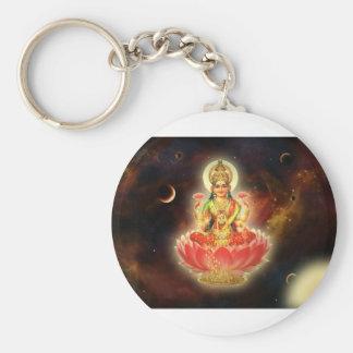 Diosa de Maa Maha Lakshmi Devi Laxmi de la riqueza Llavero